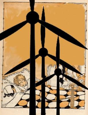 Kids Sleeping with Turbines