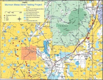 Mormon Mesa Wind Testing Project