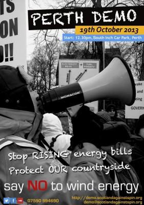 Stop Rising energy bills. Protect OUR countryside.