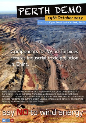 Components for Wind Turbines creates industrial toxic pollution in China.