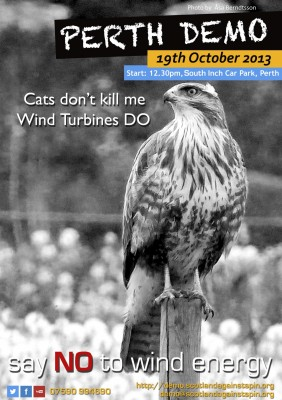 Cats don't kill me. Wind Turbines DO.