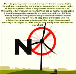 Mendip Windfarm Song poster