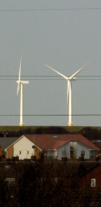 Wirral turbine mirage