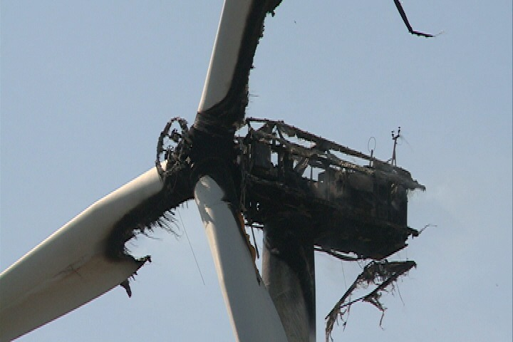 Wind Turbine Fire Wind Energy News