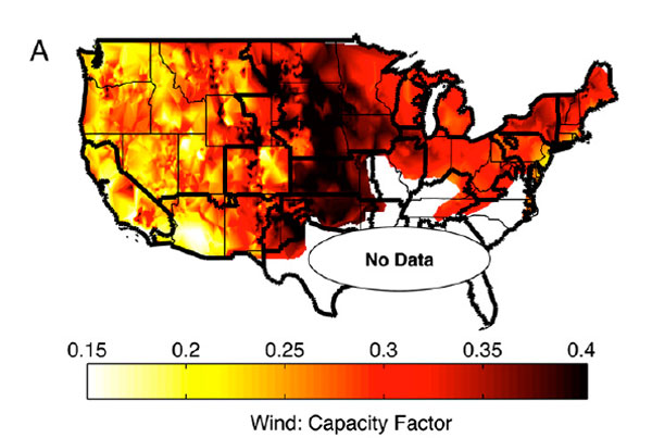 Wind resources | Photo: Proceedings of the National Academy of Sciences