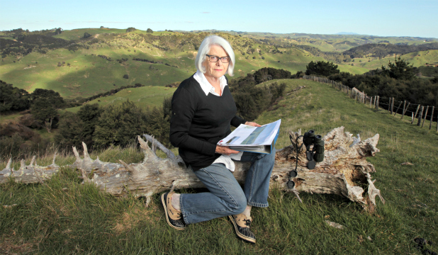 Pamela Walter has been at the heart of a costly fight to keep Contact Energy pylons off her family's land.  PETER DRURY/Fairfax NZ