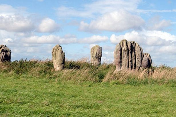 4,000 year-old Duddo stone circle near Berwick