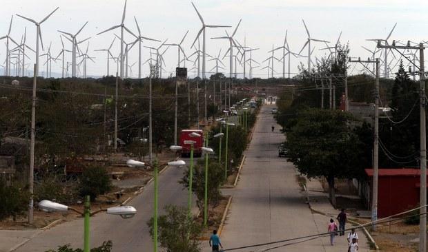 Proyecto La Venta, Venta, Juchitan, Oaxaca, Mexico. Foto: Francisco Olvera.