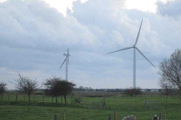 The turbine is one of 26 in the area