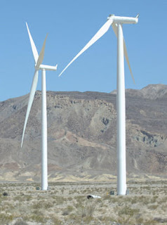 images via Ocotillo Wind Turbine Destruction