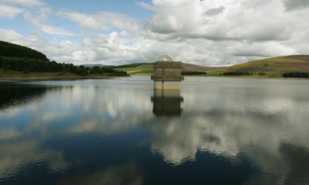 Backwater Reservoir. DC Thomson