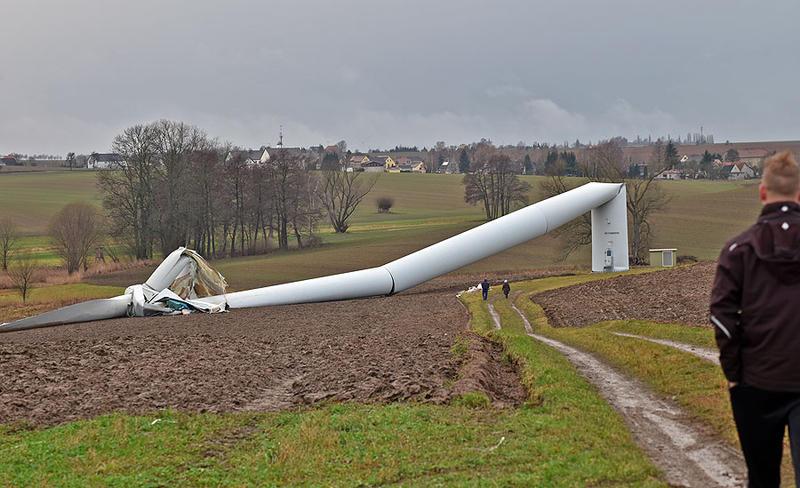 Collapse Of Wind Turbine Under Investigation Wind Energy