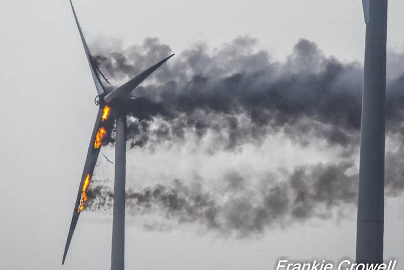 West Pubnico wind turbine destroyed by fire | Wind Energy News